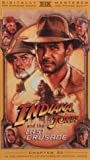 Indiana Jones: Last Crusade [VHS] [Import]