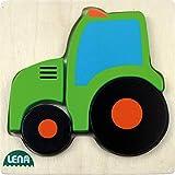 Lena 32079 - トラクター木製ジグソーパズル