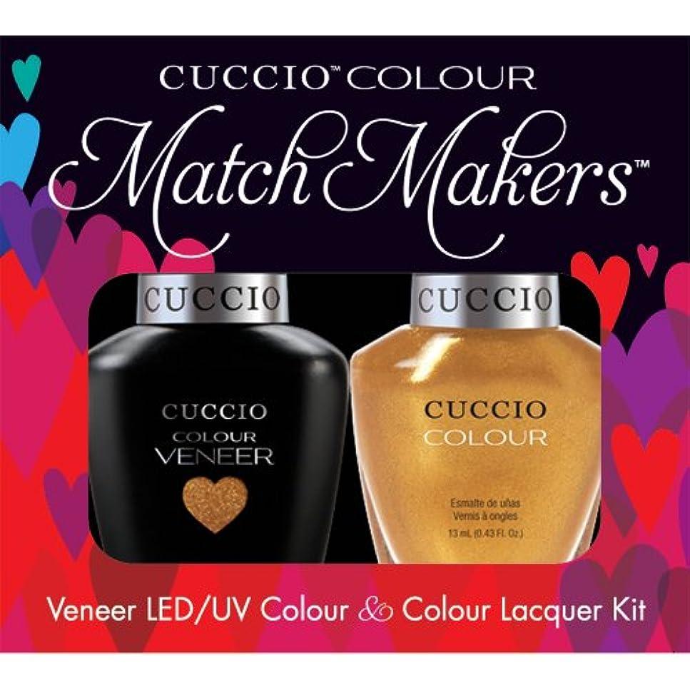 焦げ植生免除Cuccio MatchMakers Veneer & Lacquer - Russian Opulence - 0.43oz / 13ml Each