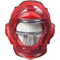 ISAMI(イサミ) レギュラーヘッドガード(ヘッドカバー付) TT-300 Lサイズ 赤 ヒゴワンタオル付き