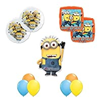 Despicable Me 2Minions 11PC Happy BirthdayパーティーBalloons Decorations Supplies