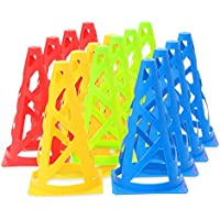358 products カラー マーカーコーン 23㎝ 16本 セット (全4色-各4個)