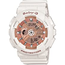 Casio Baby G Women BA110-7A1 Year-Round Analog-Digital Automatic White Watch
