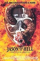 Jason Goes to Hell : The Final金曜日11x 17映画ポスター–スタイルA Unframed PDPGD0939