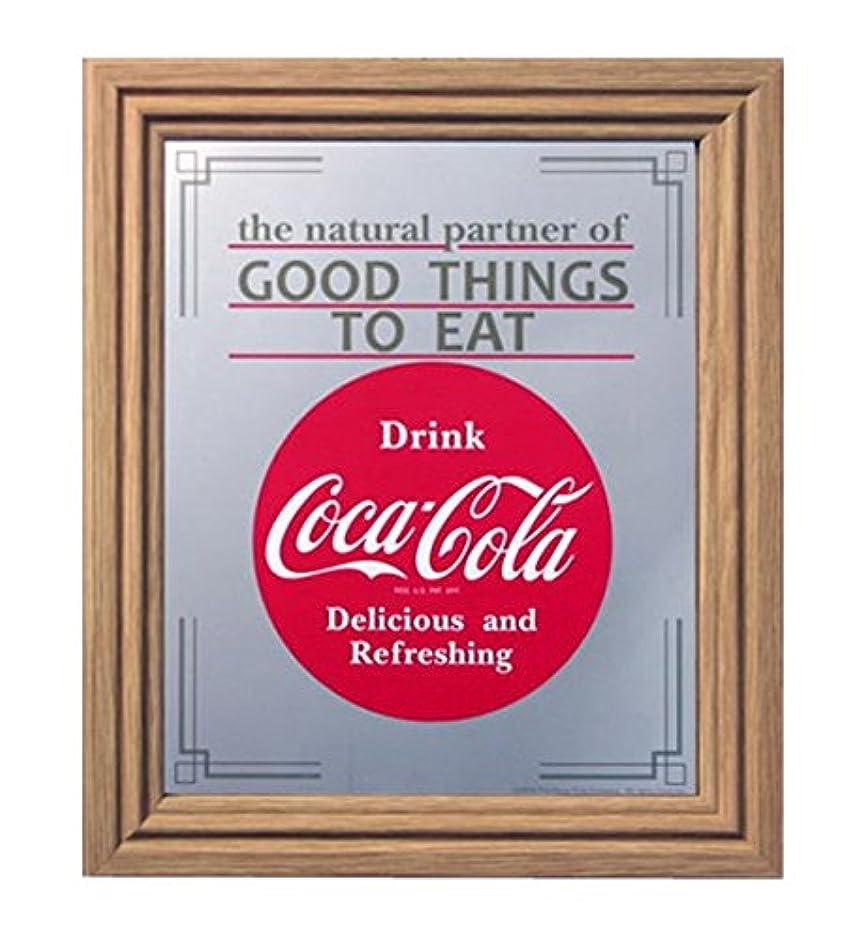 コカコーラ ミラー?鏡 ミラー 35×30×2.5cm