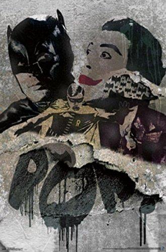 バットマン–Grungeポスタープリント( 22x 34)