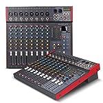 G-MARK MK800プロフェッショナルミキサーオーディオ音楽スタジオコンソールステージミキサーマイクミキシングdjパーティー教会48ボルトファンタム電源