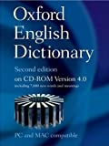Oxford English Dictionary Second Edition on CD-ROM Version 4.0 (Oxford English Dictionary 2nd edition)