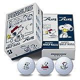 ブリヂストン(BRIDGESTONE) ゴルフボール TOUR B JGR SNOOPY EDITION ゴルフボール(6球入り) ユニセックス ホワイト 8JWYSP