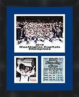 Washington Capitals 2018Stanley Cup Champions T。J。Oshie Framed 11x 14マットコラージュフレーム写真をハングアップする準備