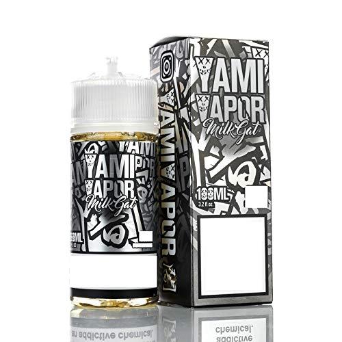 Yami vapor milkgat ミルクガット ミルク ヌガーフレーバー アンズ クルミ スイーツ ノンニコチン ノンタール USA 100ml 正規輸入品