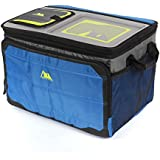 Arctic Zone ソフトコラプシブルクーラー TableTop Soft Collapsible Cooler (50 Can), Blue (並行輸入品)