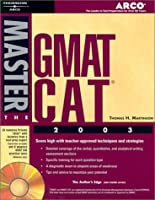 Master the GMAT CAT, 2003/e w/CD-ROM (Peterson's Master the GMAT)