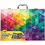 Crayola Inspiration Art Case: 140 Pieces, Deluxe Set with Crayons, Pencils, Markers and Paper in a Portable Storage Case, Great  Boys and Girls,  Our  Art & Craft Colouring Set!