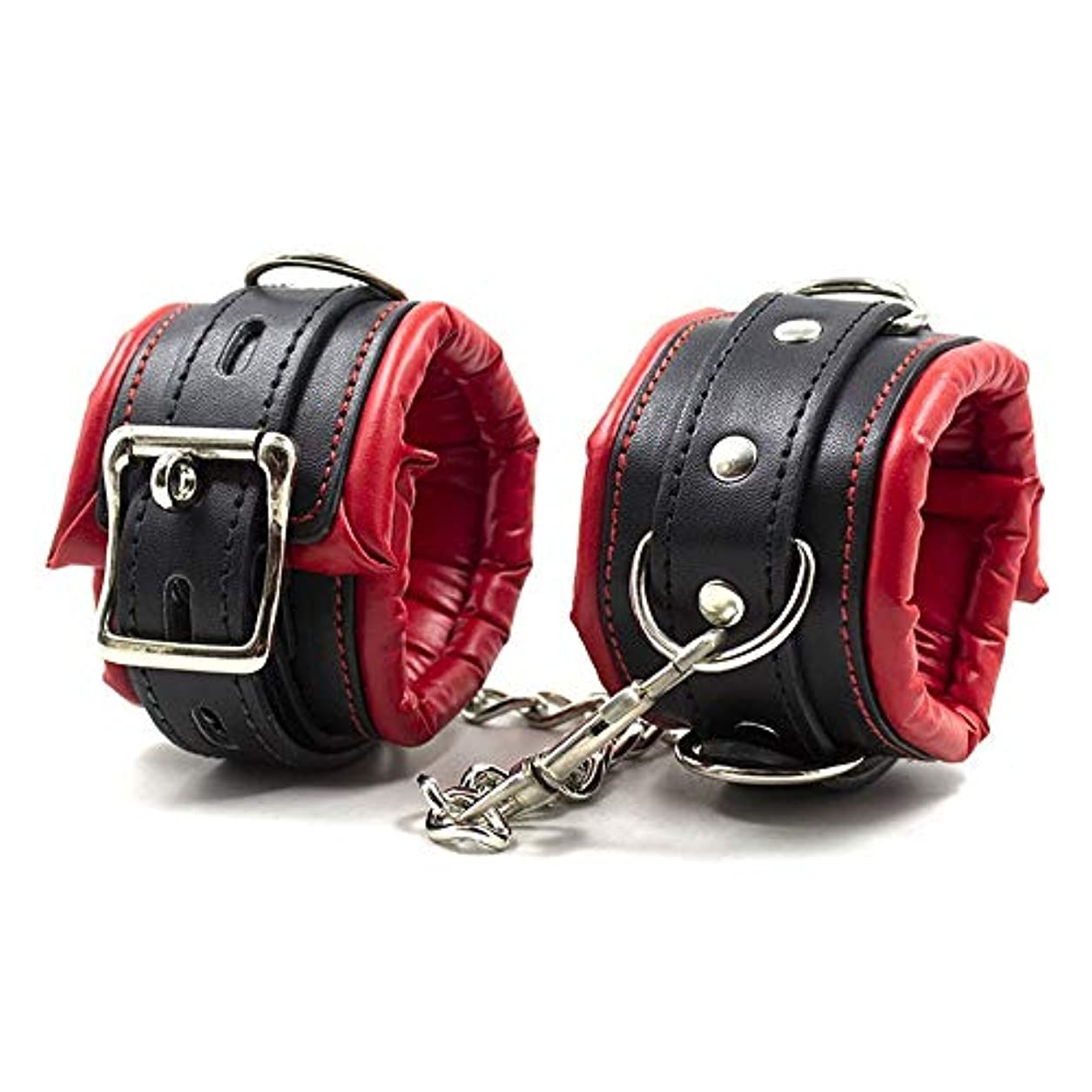 HUANGAIHUA 快適な縁取りブティック手錠 (Size : Boutique ankle cuffs)