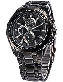 [エーエムピーエム24]AMPM24 ファッション メンズ ステンレススチールバンド アナログ スポーツ クォーツ腕時計CUR007