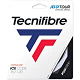 Tecnifibre Tennis Ice Rope Code 1.30 Adult Unisex, White, Single