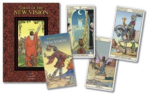『Tarot of the New Vision (Lo Scarabeo Kits)』の1枚目の画像