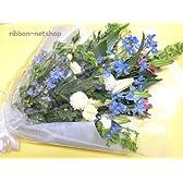 【お盆・お供え花】【法要】【命日】お供え用の花束(白&淡色ミックス) FL-OS-07