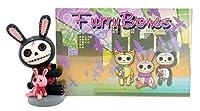 Furry Bones Bunny Frame スカルラビットフォトフレーム・BK