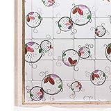 CottonColors 窓用フィルム 目隠しシート 何度も貼直せる ガラスフィルム 紫外線カット 遮熱 90x200cm ステンドグラス043-R