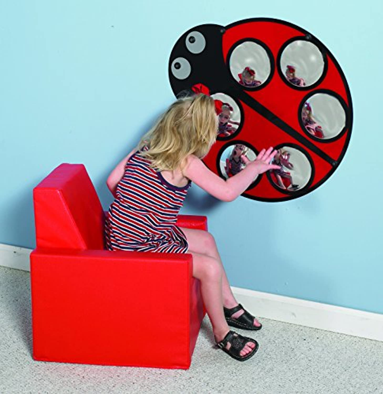 Lilly The Ladybug Mirror by Children's Factory