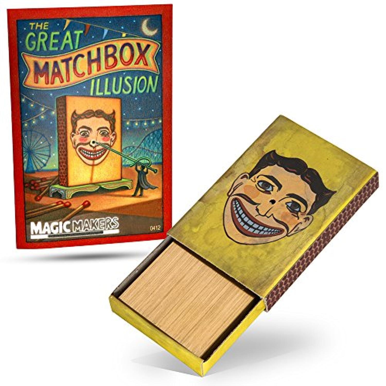 The Match Box Penetration - Magic Trick
