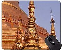 ゲーミングマウスパッドカスタム、ミャンマー仏像滑り止めラバーベースマウスパッド