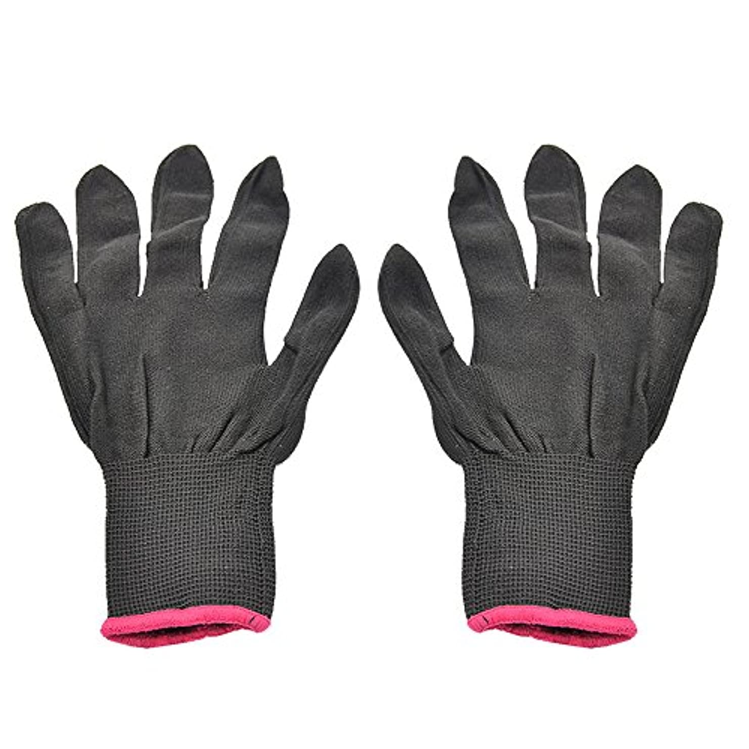 オープナー織機フェデレーションゴシレ Gosear 1 ペア 男女兼用 熱 抵抗力 美容 耐熱手袋 ため カーリング 平らな鉄 カーリング 杖 髪 スタイリング