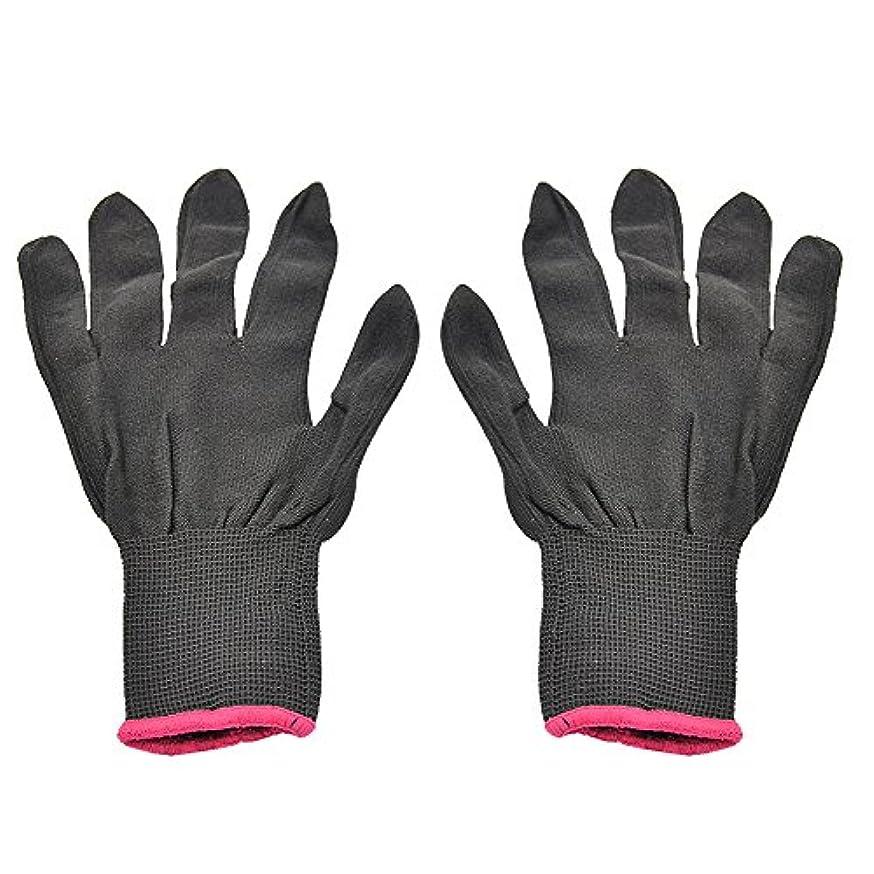 マイクロプロセッサデータム測定ゴシレ Gosear 1 ペア 男女兼用 熱 抵抗力 美容 耐熱手袋 ため カーリング 平らな鉄 カーリング 杖 髪 スタイリング