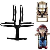 ベビー 椅子 ベルト 調整できるチェアベルト 子供椅子 ベビーカー バギーシート安全な固定ベルト ストラップ ハーネス 赤ちゃん食事用補助ベルト 外出も楽に食事ができる用品