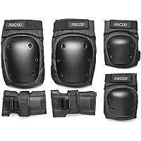 スケートボード プロテクター 3点セット 手首 肘 膝ガードスケートボード用パッド 収納袋付き