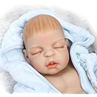 NPK 60cm Full Silicone Body Boy Silicone Reborn Baby Doll Lifelike Baby Doll Magnetic Mouth Kids Gift Toy