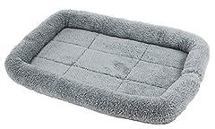 PetStyle シンプル ペット用ベッド・マット 犬 猫 Mサイズ (グレー)