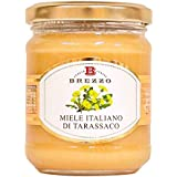 BREZZO 非加熱 イタリア産天然はちみつ(たんぽぽ)250g