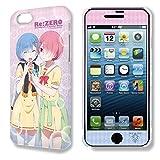 デザジャケット Re:ゼロから始める異世界生活 iPhone 7/8ケース&保護シート Ver.2 デザイン02( レム & ラム )
