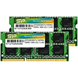 シリコンパワー ノートPC用メモリ  DDR3 1600 PC3-12800 SO-DIMM 8GB×2枚 永久保証 SP016GBSTU160N22