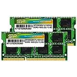 シリコンパワー ノートPC用メモリ DDR3 1600 PC3-12800 8GB×2枚 204Pin Mac 対応 永久保証 SP016GBSTU160N22