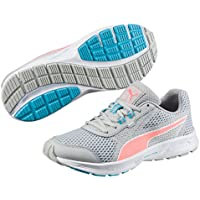 PUMA Women's Essential Runner Wn, Gray Violet-Nrgy Peach- White, Running shoes