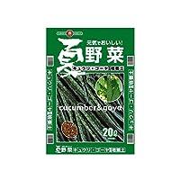 SUNBELLEX 夏野菜 きゅうり・ゴーヤ専用培養土 20L×6袋 【人気 おすすめ 通販パーク】
