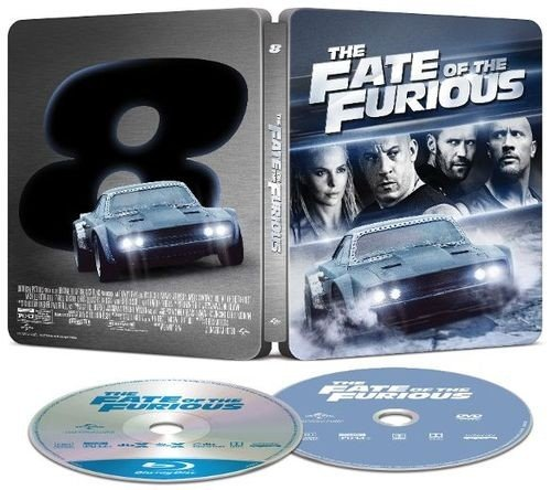 The Fate of the Furious Limited Edition Steelbook (Blu-Ray+DVD+Digital HD)