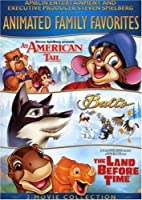 ANIMATED FAMILY FAVORITES 3 MOVIE COLLECTION