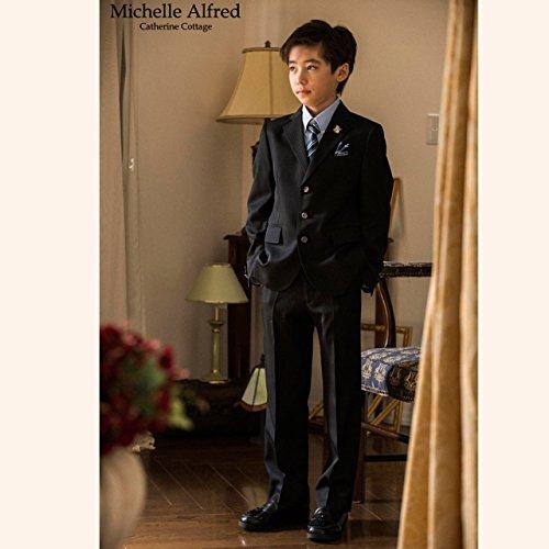(キャサリンコテージ)CatherineCottage子供服男の子スーツベーシックスーツ5点セット140cmブラックMA514