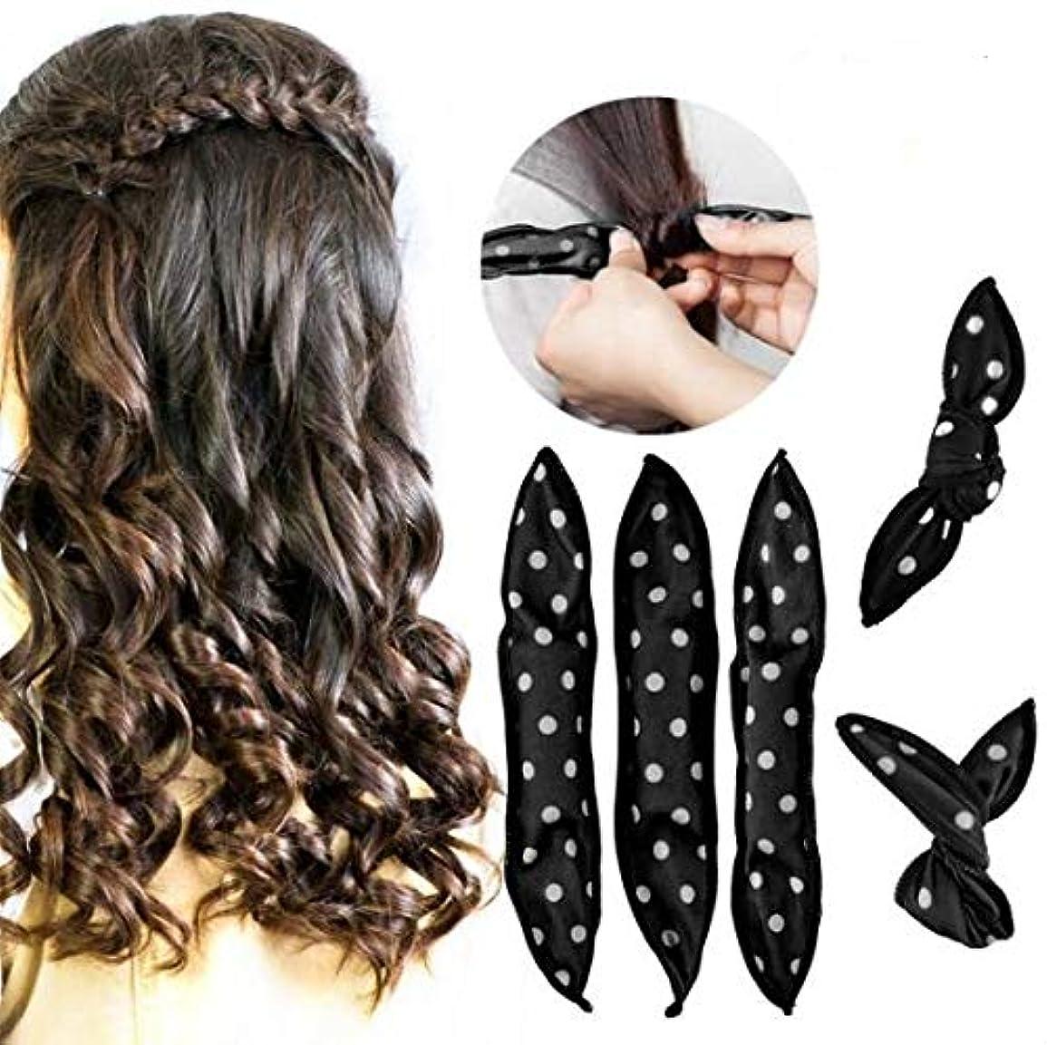 知恵オープニングプレゼントRabugoo 20本/セットスポンジフレキシブルフォームヘアカーラーDIYヘアスタイルツール