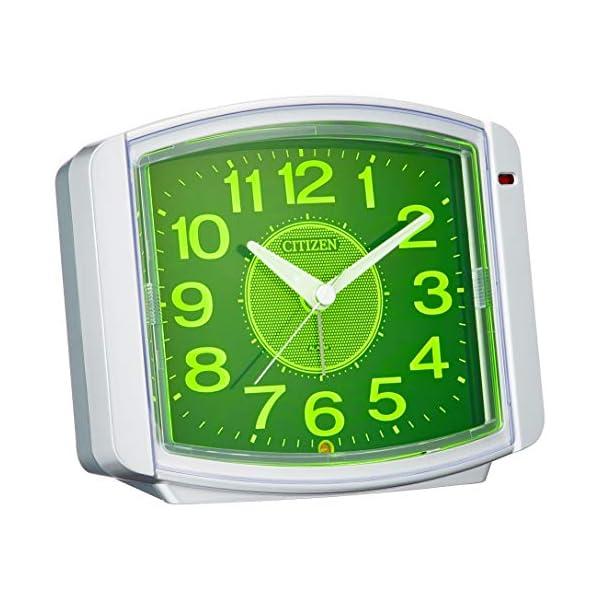 シチズン 目覚まし時計 アナログ サイレントミグ...の商品画像