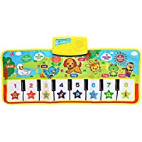 baynneキッズ英語ミュージカルピアノ音楽カーペットマット教育電子玩具
