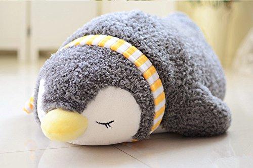 (viviwo)抱き枕 ぬいぐるみ ペンギン クリスマス プレゼント ふわふわ 暖かい お誕生日 祝い 寝込み (55cm)