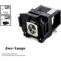 AWO elplp85/ v13h010l85プレミアム品質Projector Bulb with Housingフィットfor PowerLite Home Cinema 3000/ 3500/ 3600e、eh-tw6600/ tw6600W