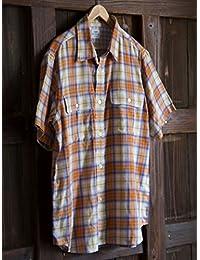 (コーエン) COEN ダブルガーゼオンブレーチェックシャツ 75156008017