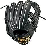 ZETT(ゼット) 少年野球 軟式 グラブ (グローブ) グランドヒーローライジング オールラウンド ピッチャー 内野手 外野手 右投用 ブラック(1900) LH BJGB72830